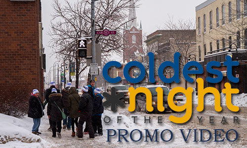 Coldest Night promo